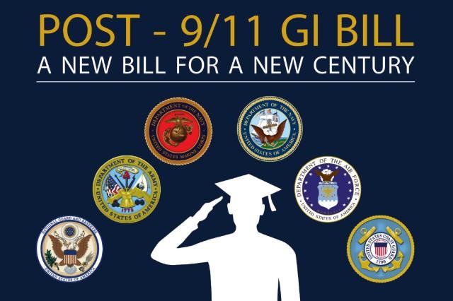 Post 9/11 GI Bill graphic