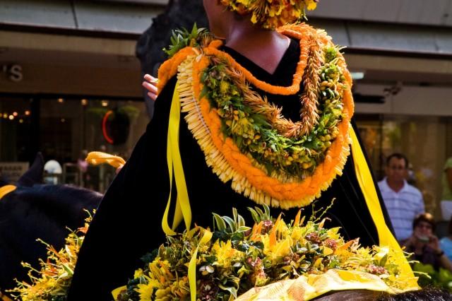 Aloha spirit on display at floral parade