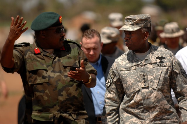 Ward reports on Africa Command progress