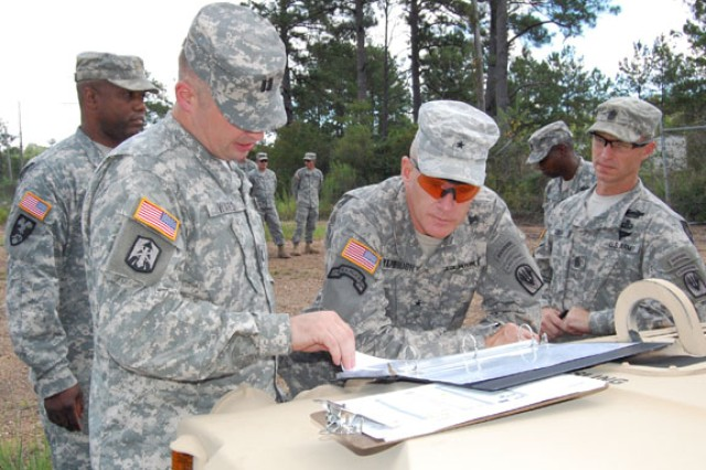 D Battery Soldiers drive training mission for combat advisors