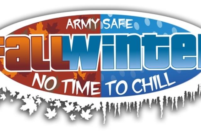 Army Safe Fall Winter logo
