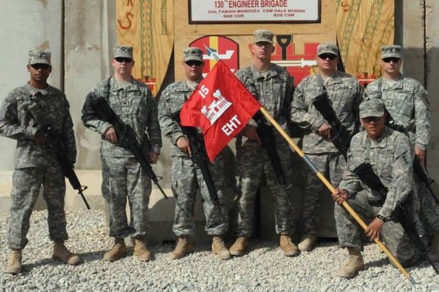 130th Eng. get C-IED aid from explosive hazards team