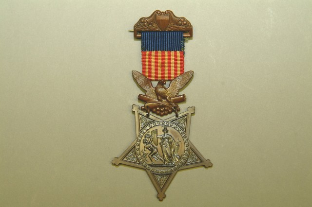 An Honored Medal: 1862-1896 Version of the Medal of Honor.  Army Heritage Museum Collection.