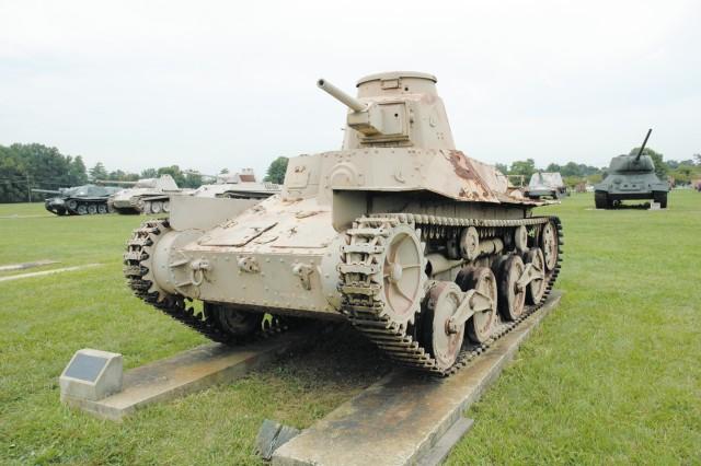 Japanese Tank -  Type 94, Chu Sensha - Initial production, 1935 - Weight, 8.5 tons