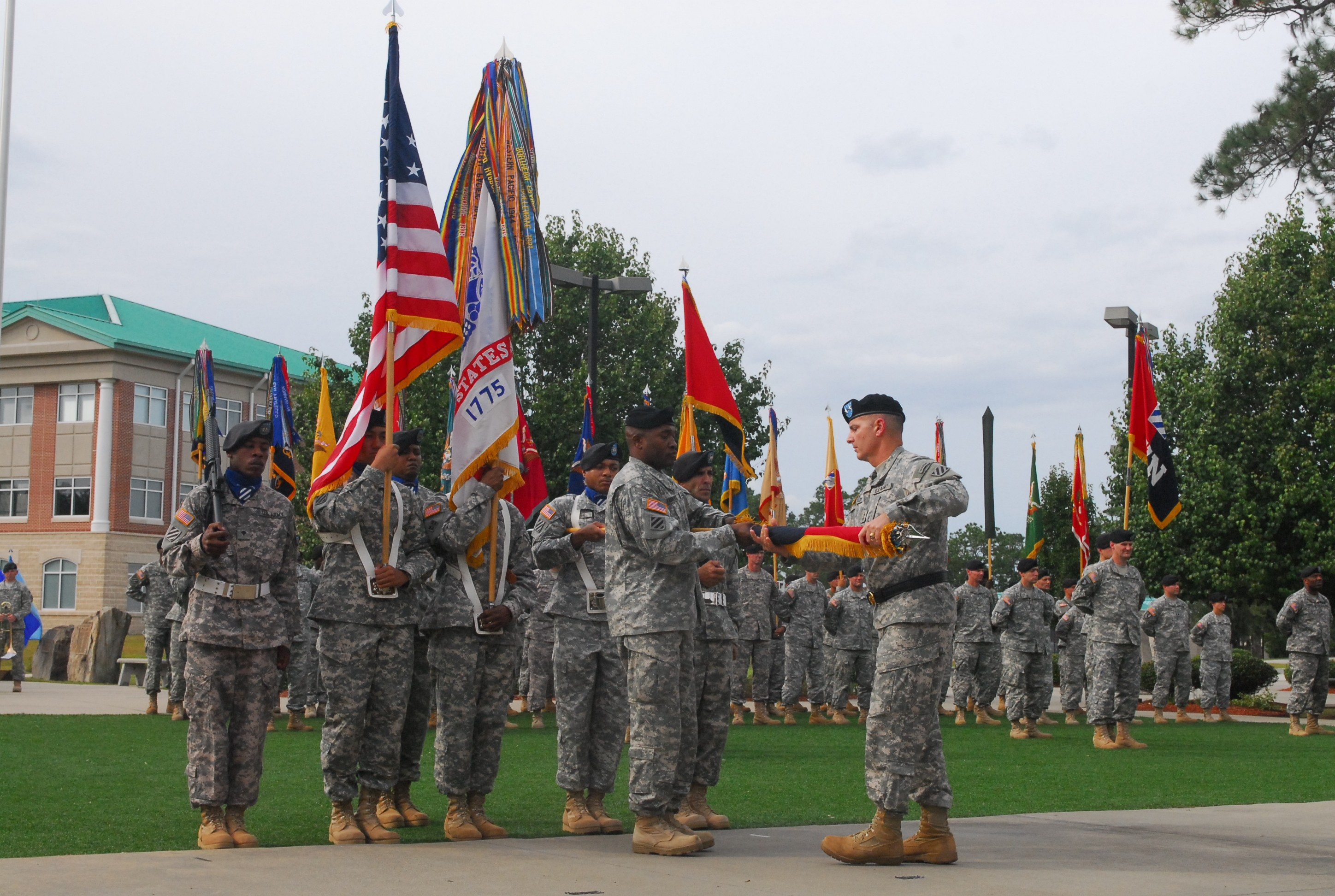 Army color casing ceremony script - The Colors Casing Ceremony Signified The Marne Division S Fourth Deployment To Iraq A Milestone Made By No Other Army Division Photo Credit Staff Sgt