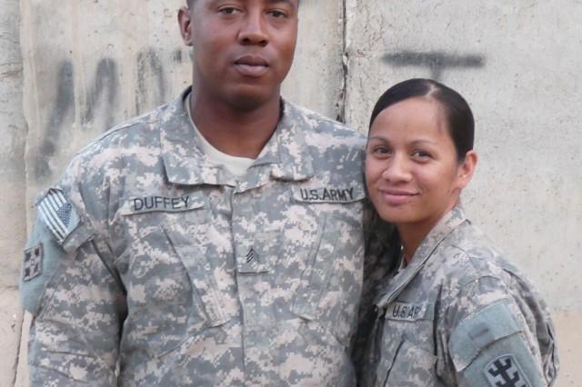 Dual military spouses share deployment successes