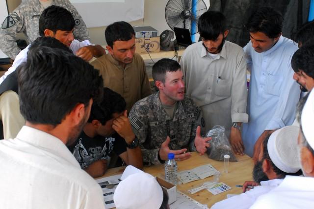 Agribusiness teams help Afghan farmers find simple solutions