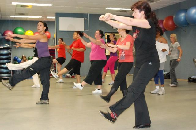 Zumba adds Latin dance to fitness routine