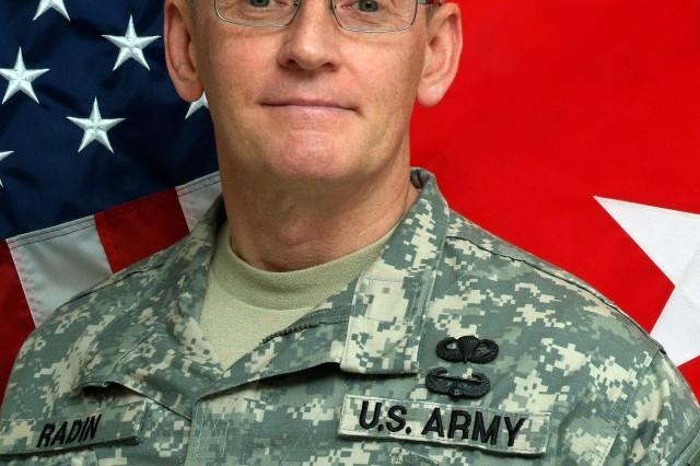 Major General Bob Radin, Deputy Assistant Chief of Staff, G-4