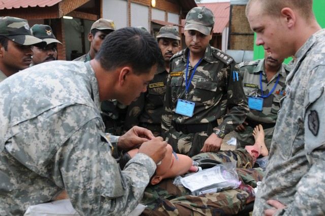 Medics polish skills during TC3 workshop in India