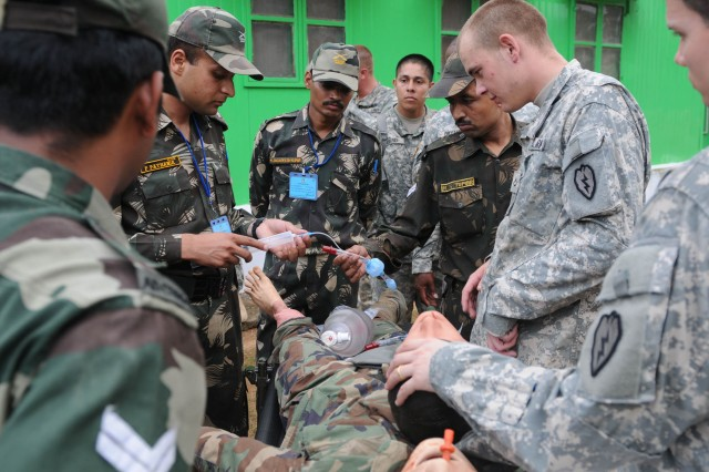 Medics polish skills during TC3 workshop in India