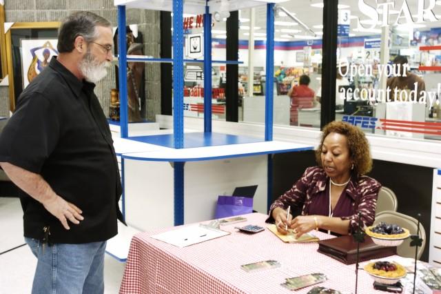 Retired NCO's first novel raises money for scholarships