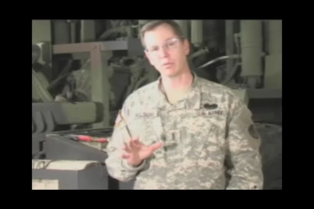 Chief Warrant Officer 4 Frank Wilson introduces the U.S. Army Tank and Automotive Command, Lifecycle Management Command battery training videos.