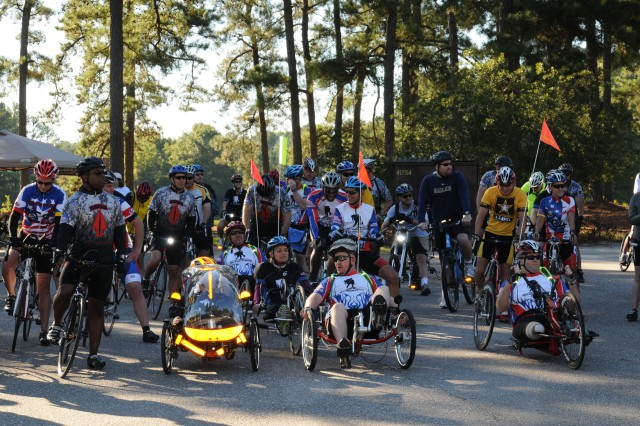 Wounded Warrior Bike Ride