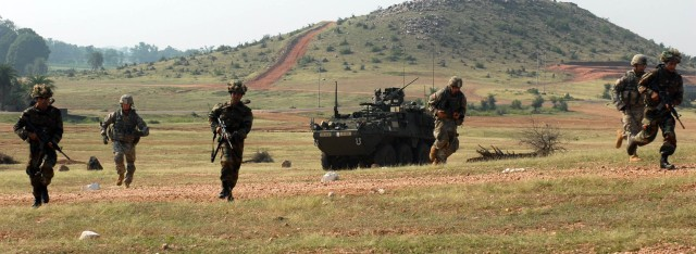 Range Training in India fires up Strykehorse Soldiers