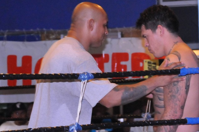 Army specialist steps into martial arts ring to test skills