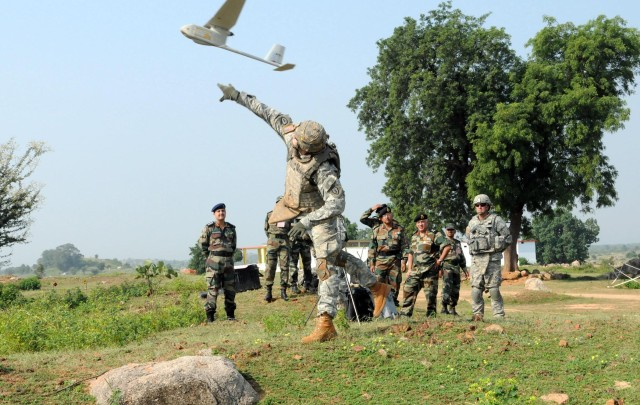 Strykehorse Soldiers show off UAV capabilities