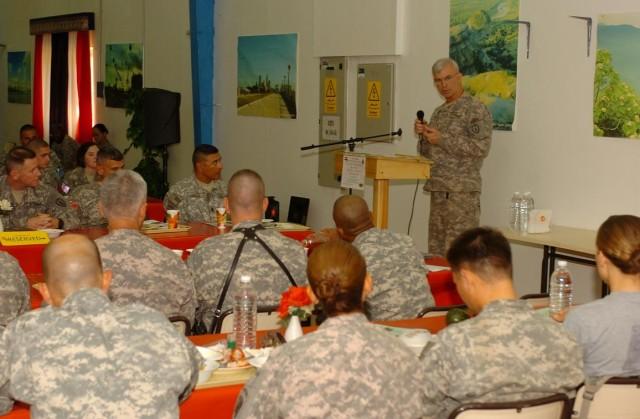 Prayer luncheon spotlights spiritual fitness