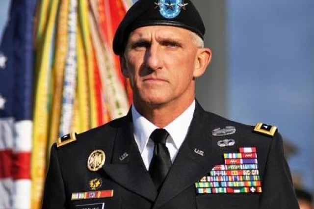 Lt. Gen. Mark Hertling was promoted to and became the Deputy Commanding General for Initial Military Training on Sept. 19.