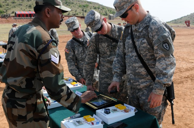 Indian army division leads IED workshop during Exercise Yudh Abhyas 09