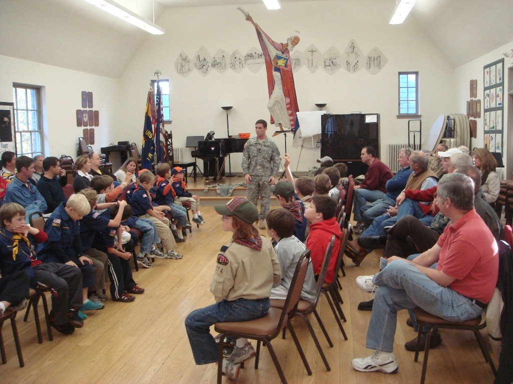 Soldier helps in Cub Scouts' advancement | Article | The