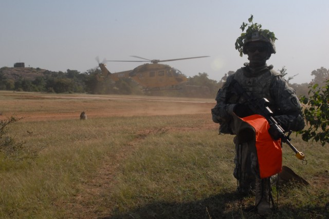 Indian and U.S. Army conduct joint MEDEVAC training at YA 09