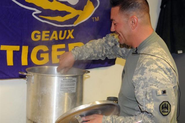 Sweet home Louisiana Transportation Soldiers bring Cajun flavor to Iraq
