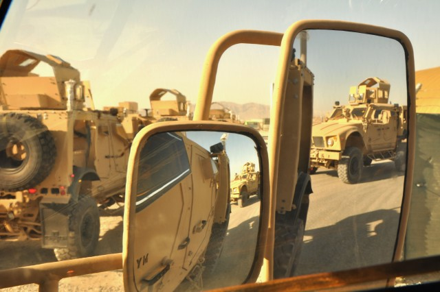 New All-terrain Vehicles Arrive in Afghanistan