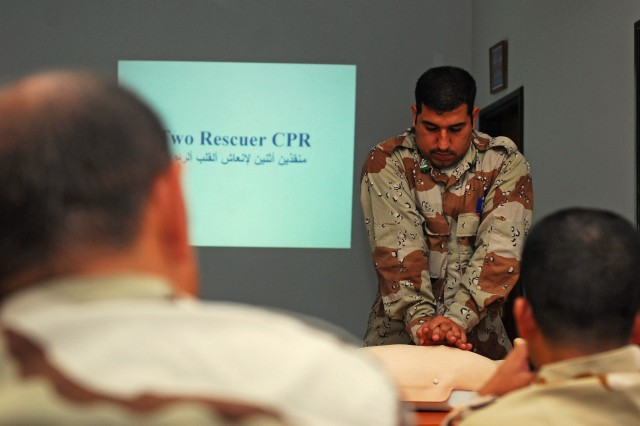 Civil Affairs supports clinic training