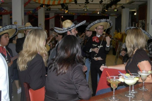 The live Mariachi band was a huge hit at the Brussels event.