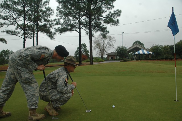 Elite golf course a breeze for Soldiers