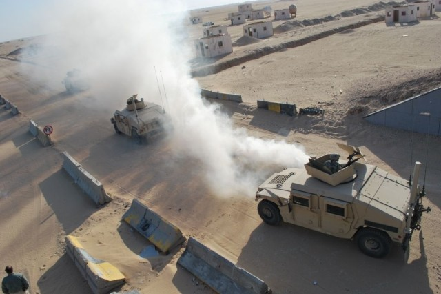 3rd HBCT Soldiers Kick Off Deployment