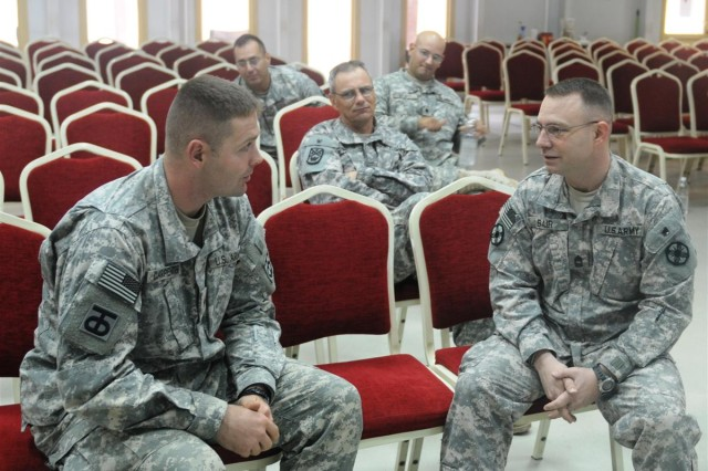 Chaplain assistants conduct monthly training at JBB