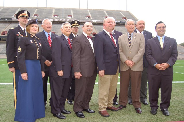 Representatives from the U.S. Army, Bryan-College Station community and Texas A&M University signed a Community Covenant held on October 28, 2009 in College Station, TX.
