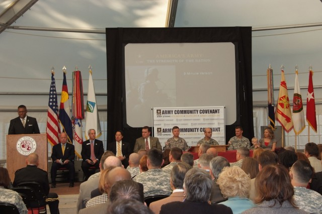 Fort Carson, community leaders sign covenant