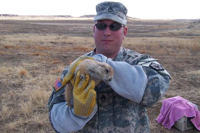 WTU Soldiers work, heal in wildlife program