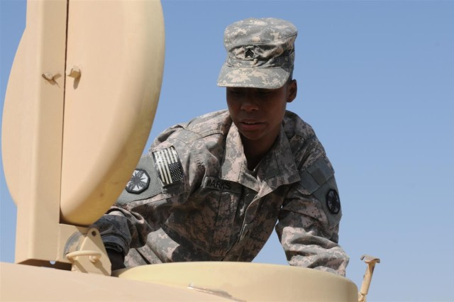223rd Medical Detachment holds field sanitation course