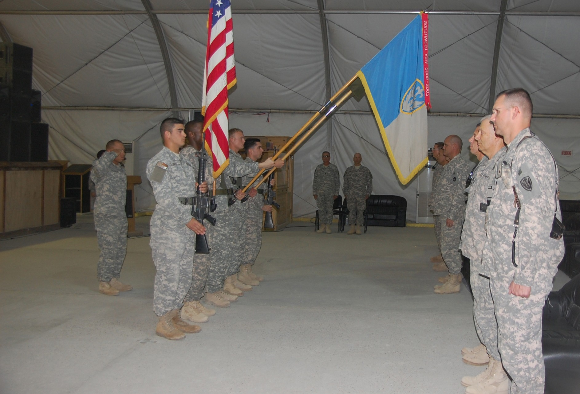 Last Ft  Lewis BDE takes control in Iraq | Article | The