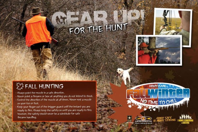 Fall hunting tips to keep you and others safe.