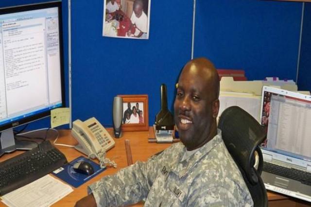 NCO Spotlight Sgt 1st Class Rodney Smith