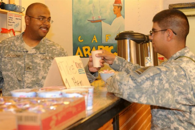 God's Grounds provides Soldiers coffee, perspective