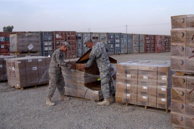 Class I yard accepts Iraq-wide food turn in
