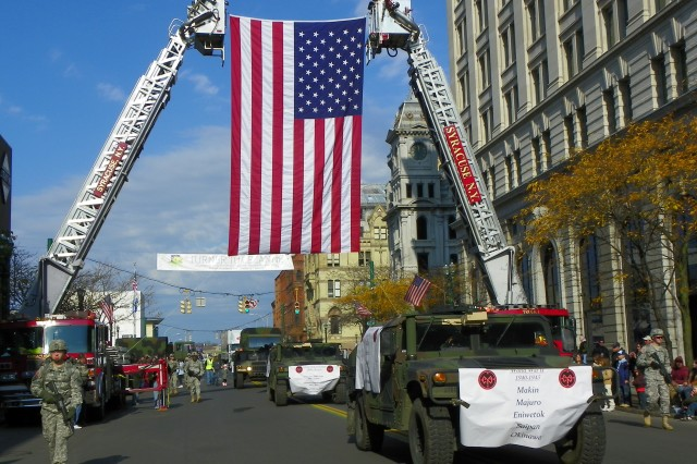 Veterans Day Roadmarch