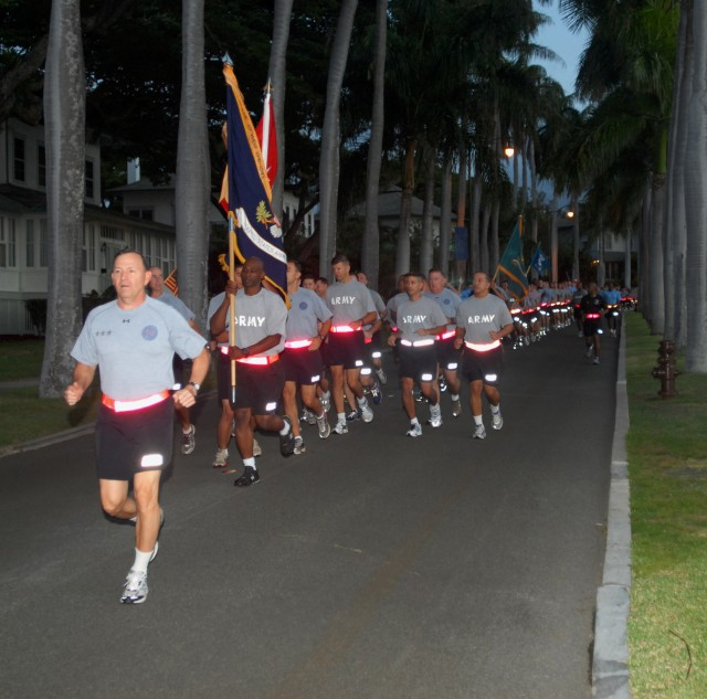 USARPAC CG talks safety after quarterly \'One Team' run