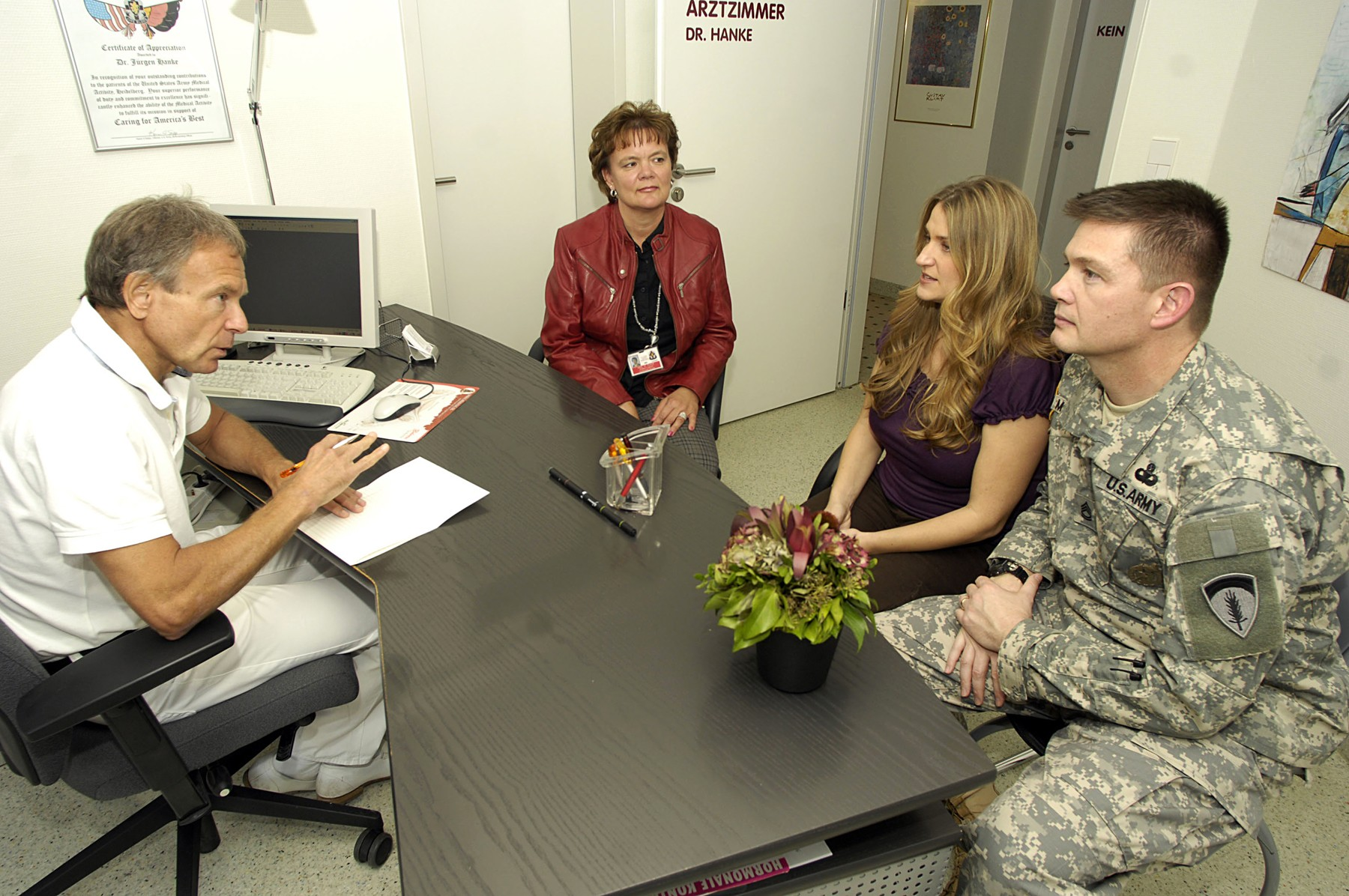Liaison program offers comfort factor for Americans being