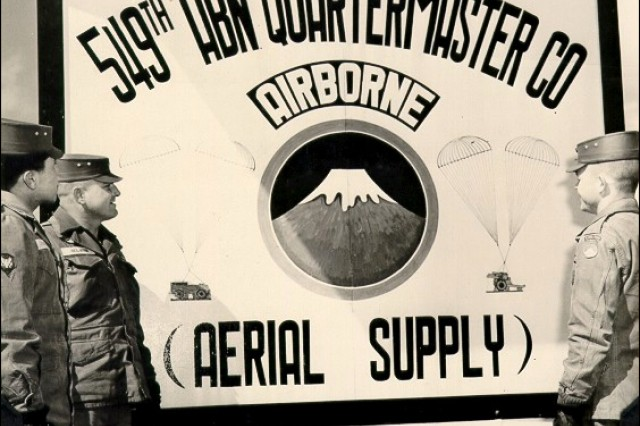 549th Quartermaster Company (Rigger) in Japan 1956.