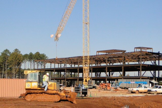 No matter where you drive on Redstone Arsenal, chances are you will see some type of construction. New buildings, renovations and upgrades, and additions are the norm as the footprint and mission of the Army expands on the Arsenal.