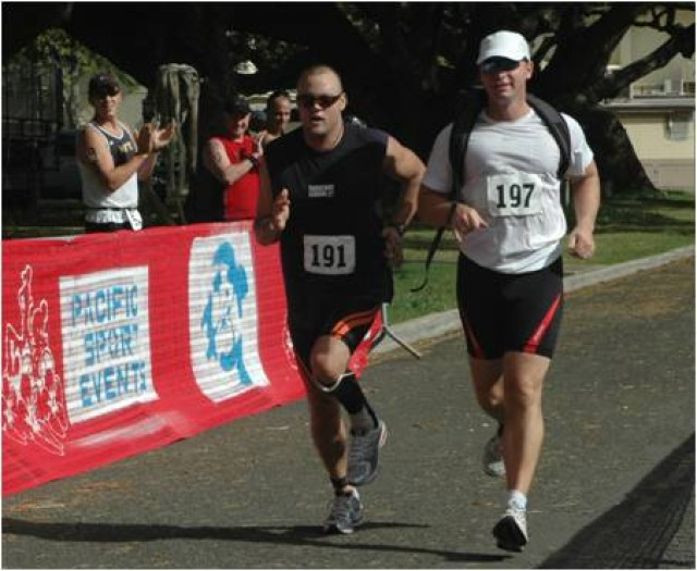 Wounded Warrior takes another step towards his goal