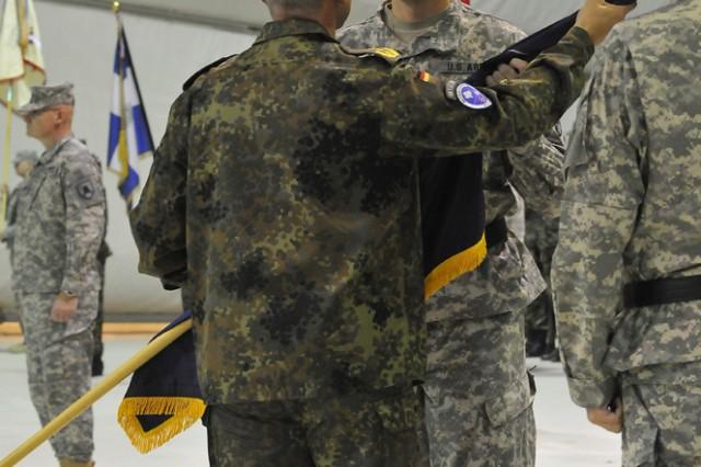 Transfer-of-Authority ceremony held at Camp Bondsteel, Kosovo