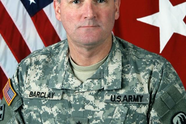 Maj. Gen. James Barclay